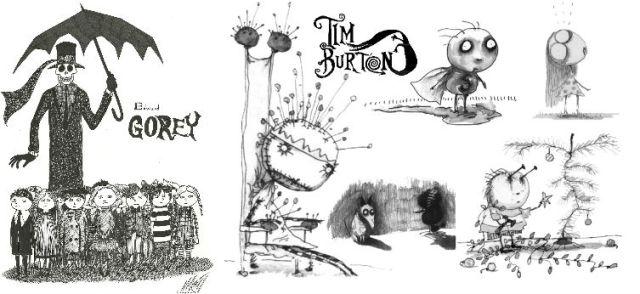 Tim burton edward gorey